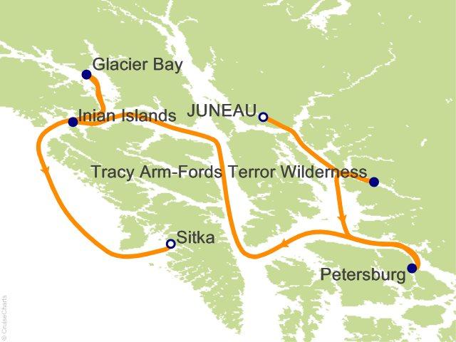 7 Night Exploring Alaskas Coastal Wilderness Cruise