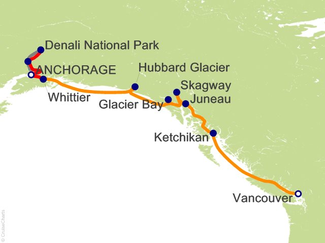 10 Night Denali Explorer - Tour AB3 from Anchorage
