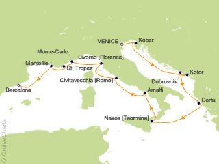 Oceania Mediterranean Cruise, 12 Nights From Venice, Riviera