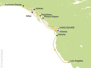 Oceania Pacific Coastal Cruise, 12 Nights From Vancouver