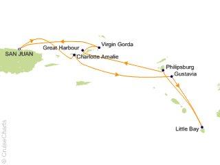 7 Night San Juan and the Virgin Islands Cruise from San Juan