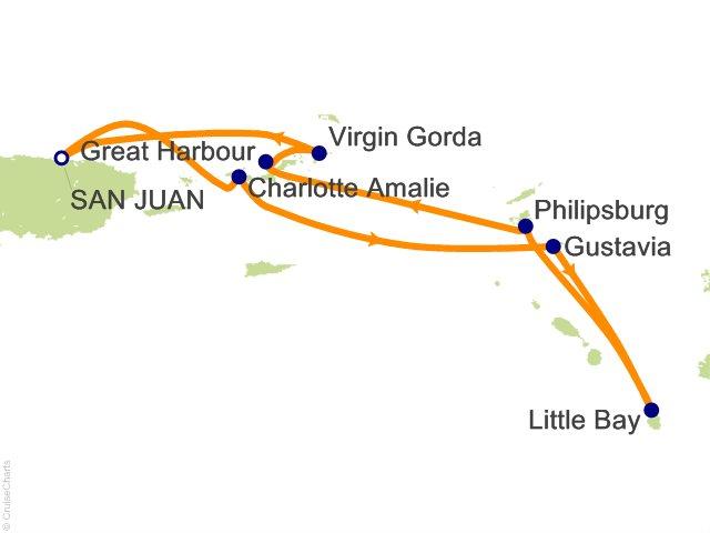7 Night San Juan and the Virgin Islands Cruise