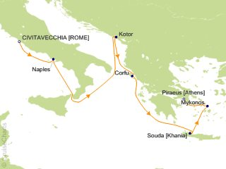 Princess Mediterranean Cruise 7 Nights From Civitavecchia