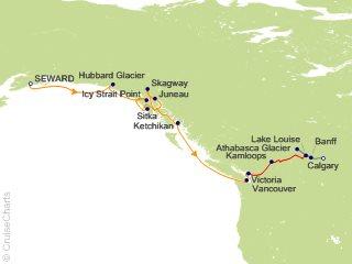 Azamara Club Cruises Alaska - Cruises Cruise, 17 Nights From Seward