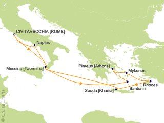 Best Mediterranean Cruises 2020 Celebrity Mediterranean Cruise, 10 Nights From Civitavecchia (Rome