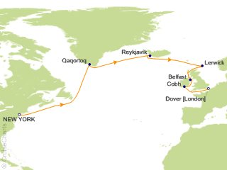 Cruises From New York 2020.Carnival Trans Atlantic Cruises Cruise 16 Nights From New