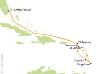10 Night Ultimate Southern Caribbean Cruise from Fort Lauderdale