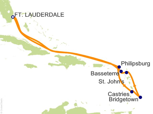 10 Night Ultimate Southern Caribbean Cruise