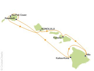 NCL Hawaii Cruise, 7 Nights From Honolulu, Pride of America, October on map of democratic kampuchea, map of malawi, map of mongolia, map of united arab of emirates, map of jinzhou, map of asia, map of cantonese, map china, map of ormuz, map of nanjing university, map of sulaymaniyah, map of cotai, map of hong kong, map of scotland, map of sao tome principe, map of french equatorial africa, map of bissau, map of hankou, map of no. africa, map of brunei,