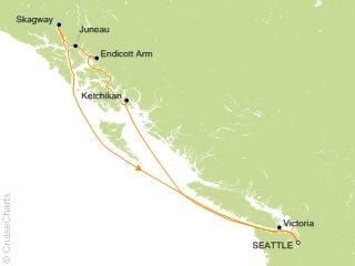 7 Night Alaska Dawes Glacier Cruise from Seattle
