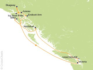 Icy Strait Point Alaska Map.Celebrity Alaska Cruises Cruise 10 Nights From Vancouver