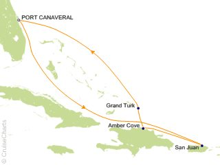 7 Night Eastern Caribbean from Port Canaveral (Orlando) Cruise from Port Canaveral
