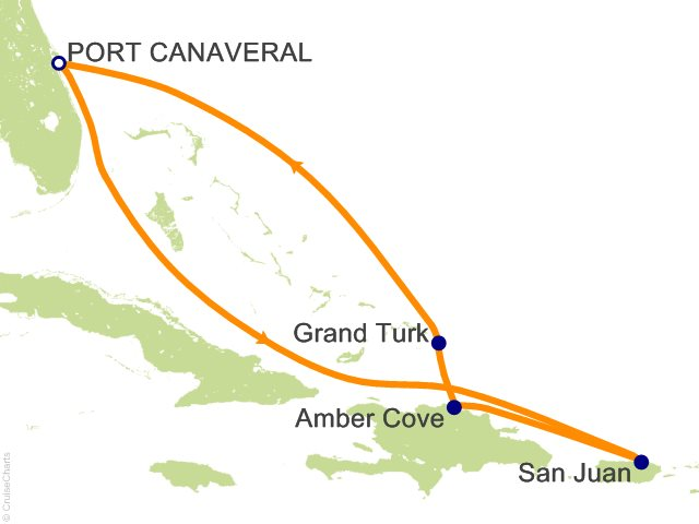 7 Night Eastern Caribbean from Port Canaveral (Orlando) Cruise