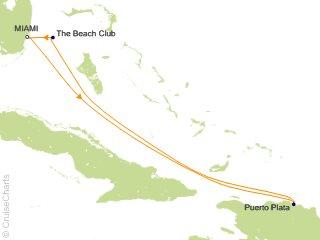 5 Night Dominican Daze Cruise from Miami