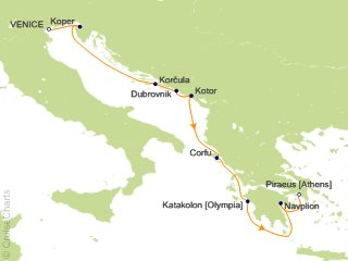 Azamara Club Cruises Mediterranean Cruise, 9 Nights From Venice
