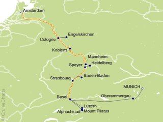 Tauck Tours Europe Cruise 10 Nights From Munich Inspire August 2