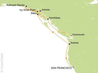 Oceania Pacific Coastal Cruise, 10 Nights From San Francisco