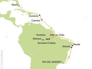 Oceania South America Cruise, 21 Nights From Rio de Janeiro