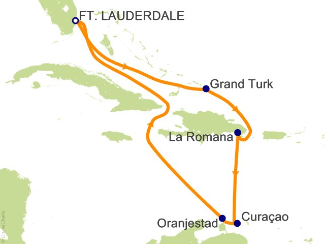 Carnival Caribbean Cruise 8 Nights From Fort Lauderdale