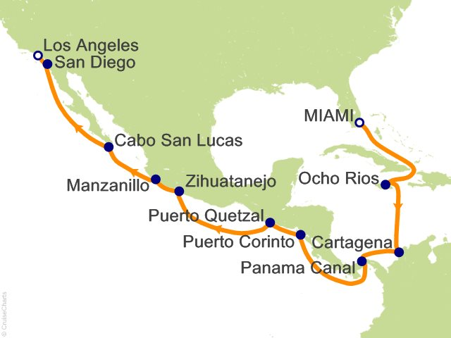 16 Night Passage Between Two Seas Cruise