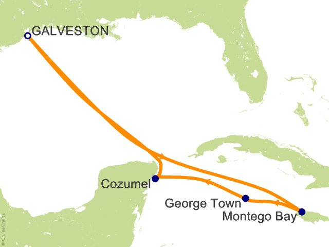 7 Night Western Caribbean Cruise on Carnival Breeze from Galveston on