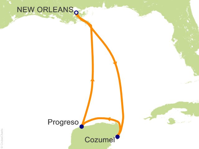 5 night western caribbean cruise on carnival triumph from new