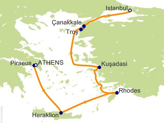 Viking Oceans Mediterranean Cruise, 7 Nights From Athens ...