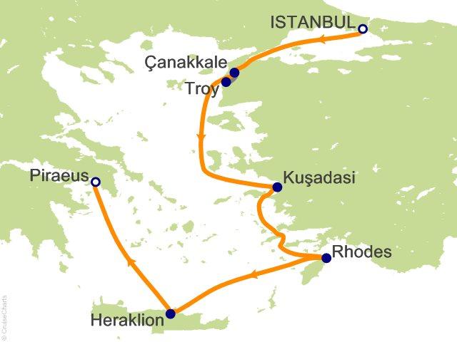 Viking Oceans Mediterranean Cruise, 7 Nights From Istanbul, Viking ...