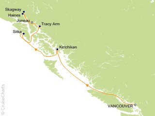 7 Night On the Trail of the Gold Prospectors Cruise from Vancouver