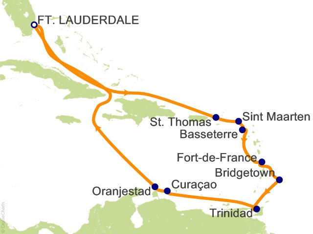 Princess Caribbean Cruise, 14 Nights From Fort Lauderdale, Caribbean