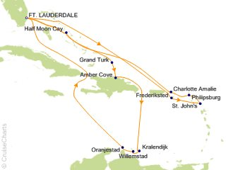 Holland America Caribbean Cruise, 19 Nights From Fort