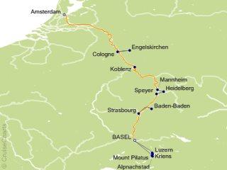 Saxon Tour Dates 2020 Tauck Tours Europe Cruise, 7 Nights From Basel (Saxon), Inspire