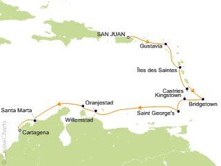 12 Night San Juan to Cartagena Cruise from San Juan