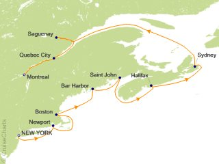 Oceania Canada / New England Cruise, 10 Nights From New York