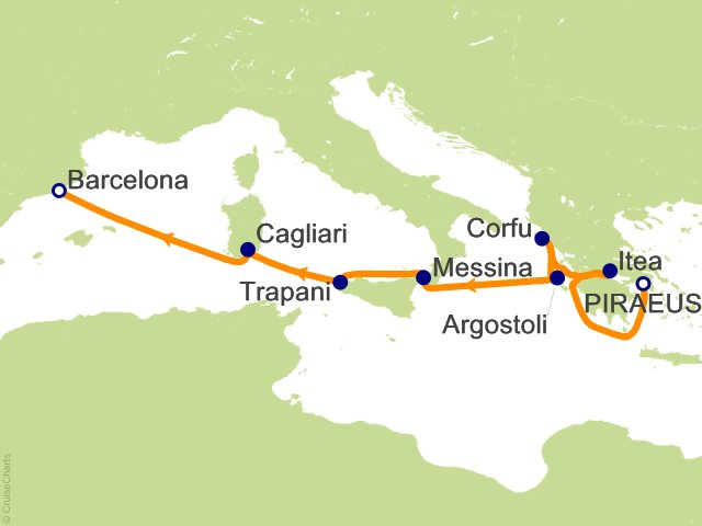 Windstar Mediterranean Cruise 8 Nights From Athens Port Of
