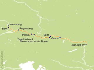7 Night Delightful Danube Cruise from Budapest