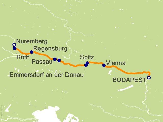 7 Night Delightful Danube Cruise