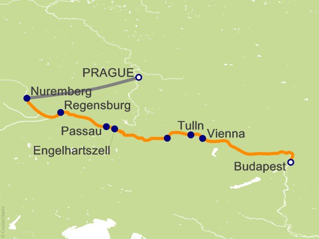 9 Night Delightful Danube and Prague Cruise and Land Tour