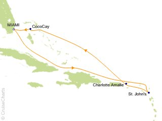 7 Night Eastern Caribbean and Perfect Day Cruise from Miami