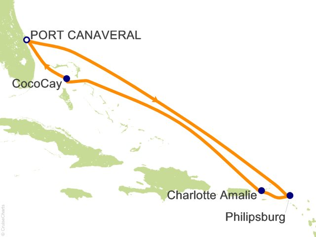 7 Night Eastern Caribbean and Perfect Day Cruise