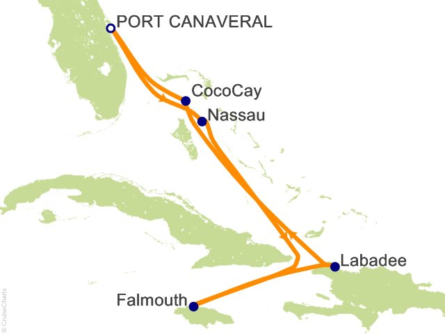 7 Night Western Caribbean and Perfect Day Cruise