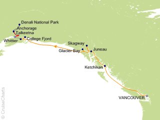10 Night Denali - D9C from Vancouver from Vancouver