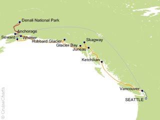 11 Night Seattle Double Denali - R6L from Seattle from Seattle