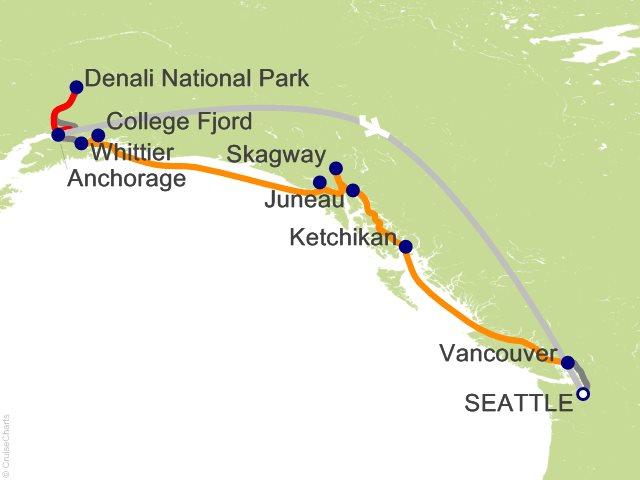 11 Night Seattle Double Denali - R6C from Seattle