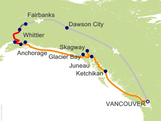 14 Night Yukon and Double Denali - Y2C from Vancouver