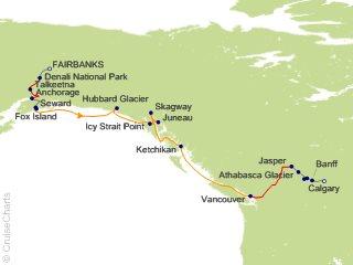 18 Night Ultimate Alaska and Canada Combination SB from Fairbanks