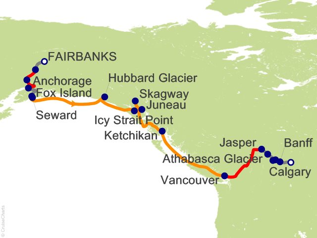 18 Night Ultimate Alaska and Canada Combination SB