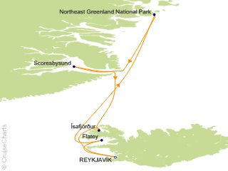 11 Night Icelands Wild West Coast to East Greenland Cruise from Reykjavik