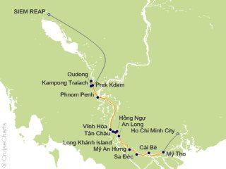 7 Night Majestic Mekong Cruise from Siem Reap