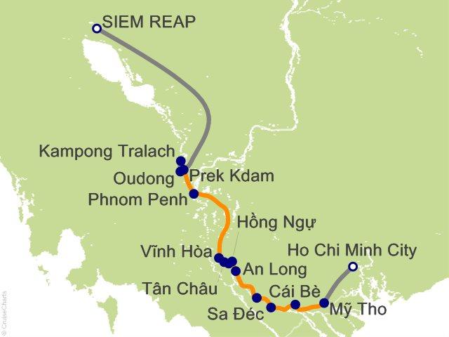 7 Night Majestic Mekong Cruise